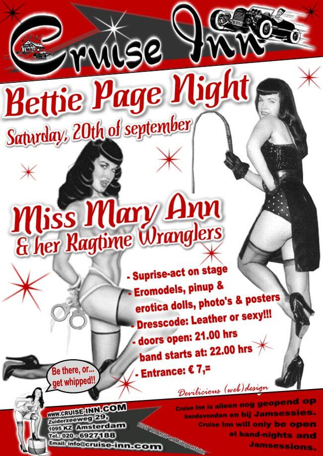 Cruise Inn - Bettie Page Night 2003