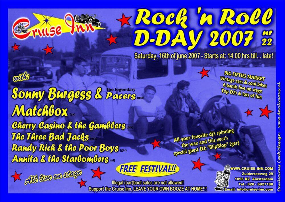 poster dday 2007 - rock n roll event