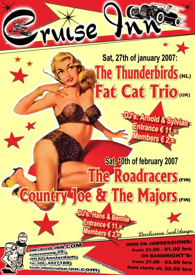 poster januari 2007 - rock n roll bandnight