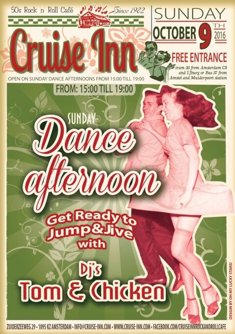 Dance afternoon - Rock & roll - Cruise Inn