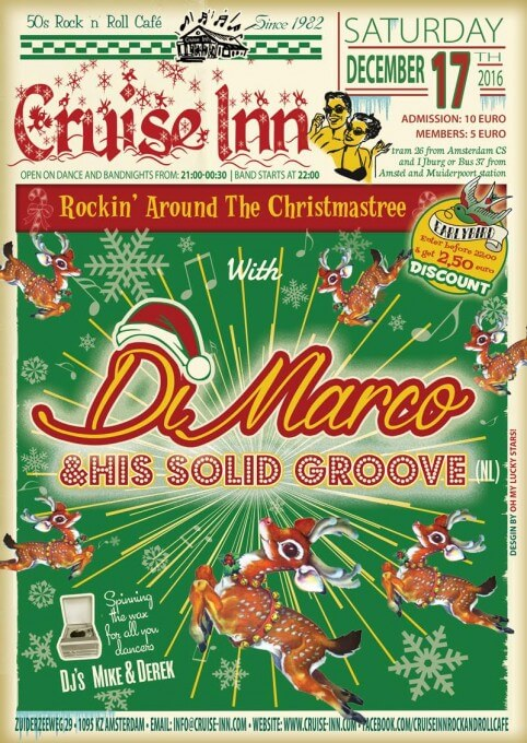 Christmas rock n roll - Cruise Inn bandnight 2016