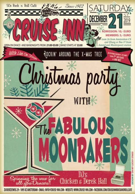 Christmas rock & roll party - Cruise Inn - 21 dec 2019