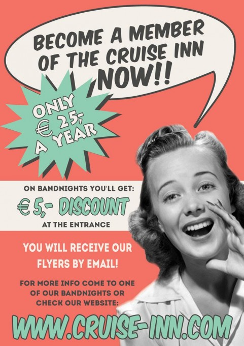 Become a member of the Cruise Inn
