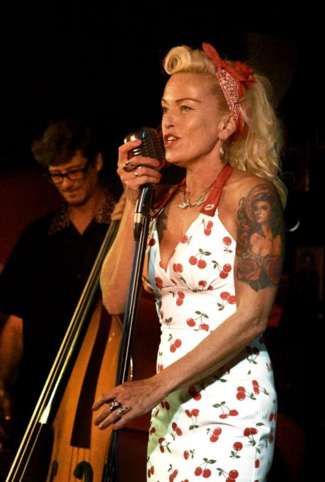 Wild Mae West - Rock & roll bandnight 2015
